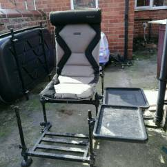 Angling Chair Accessories Fabric Recliner And Footstool Korum Super Accessory Fishing Carp Match Fish With Footplate In