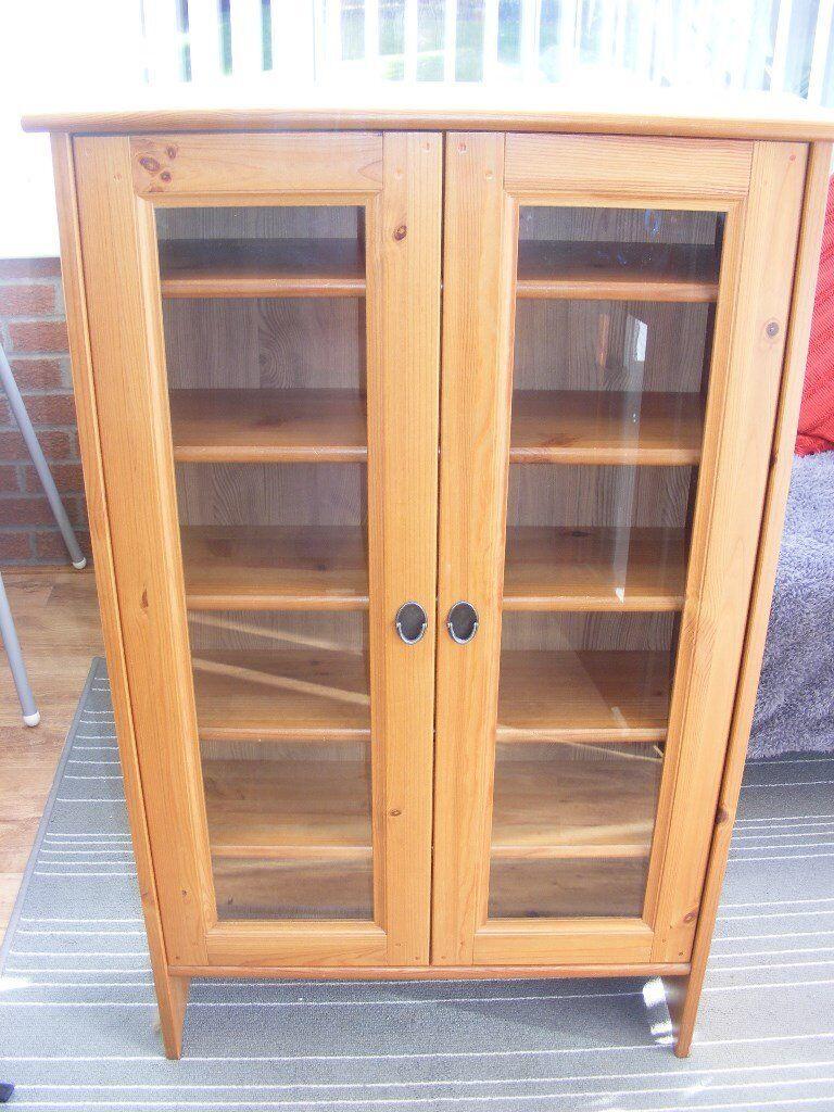 leksvik pine cd cabinets. Black Bedroom Furniture Sets. Home Design Ideas