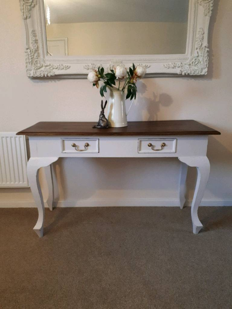 painted queen anne sofa table snoozer overstuffed luxury dog console in stafford staffordshire gumtree