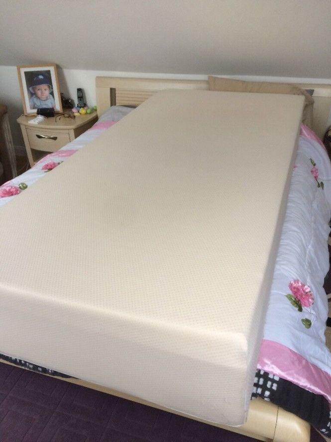 Top Quality Comfortable Single Foam Mattress Only Used For The Occasional Family Visitor