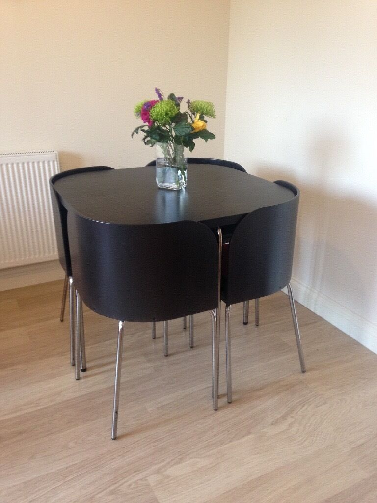 Space Saving Table And Chairs Ikea  Home Design