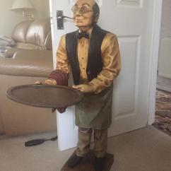 Office Chair Very Buy Inexpensive Covers Dumb Waiter Statue Reduced For Quick Sale | In Pentre, Rhondda Cynon Taf Gumtree