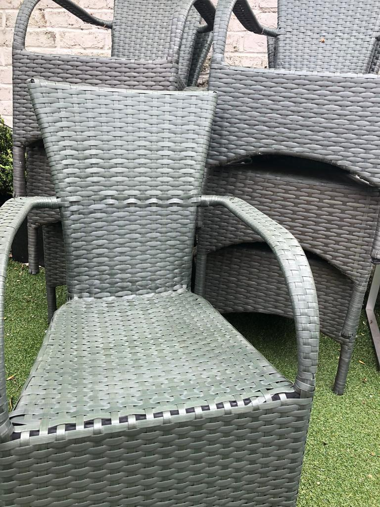all weather garden chair leather chairs of bath 8 rattan style 20 each in twickenham