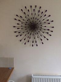 Purple metal wall art | in Blaenavon, Torfaen | Gumtree