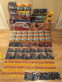 Collection of brand new Lego sets and polybags for sale