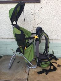 Deuter Kid Comfort Plus Child Carrier with sun and rain ...