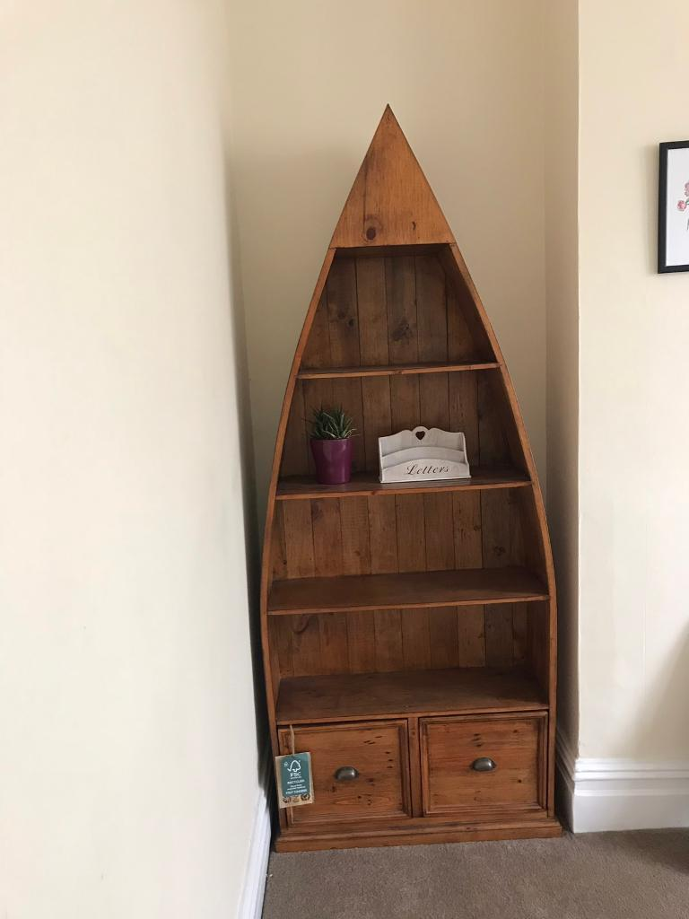 Unique Boat Shaped Bookcase In Clapham Common London Gumtree