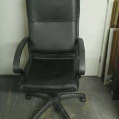 Office Chair Riser Design Workshop Black Leathette In Maidstone Kent Gumtree