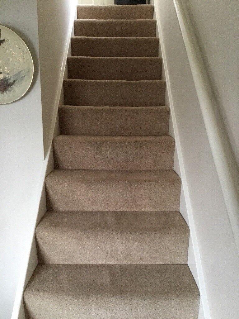 Very good condition Cream Hall Stairs  Landing Carpet