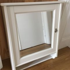 Ikea Solid Wood Kitchen Cabinets Arts And Crafts Flaren White Bathroom Cabinet Mirror   In Castlereagh ...