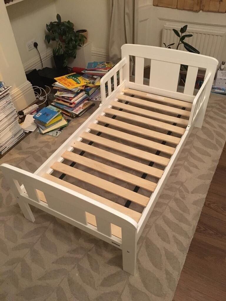 John Lewis White Toddler Bed With Mattress In London Bridge London Gumtree