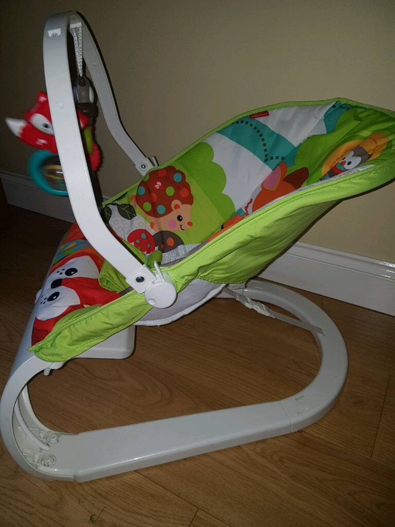 baby chair that vibrates posture study fisher price newborn up toy arch etc in yeovil