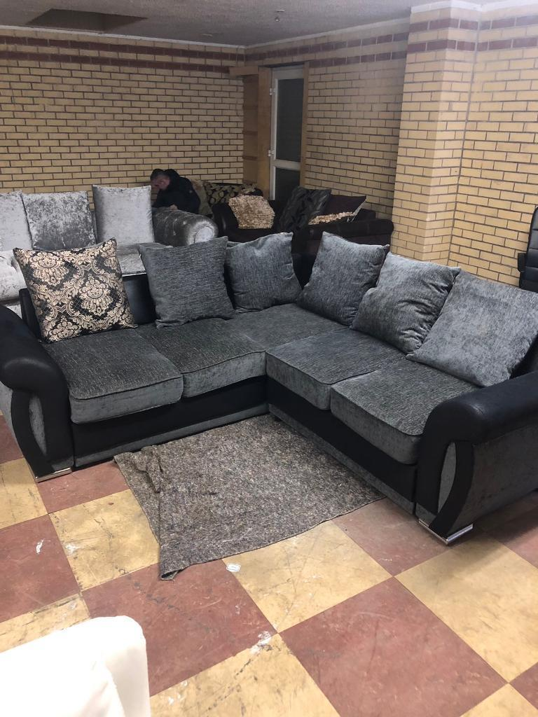 corner sofas glasgow gumtree black reclining sofa microfiber couch delivery available suite in
