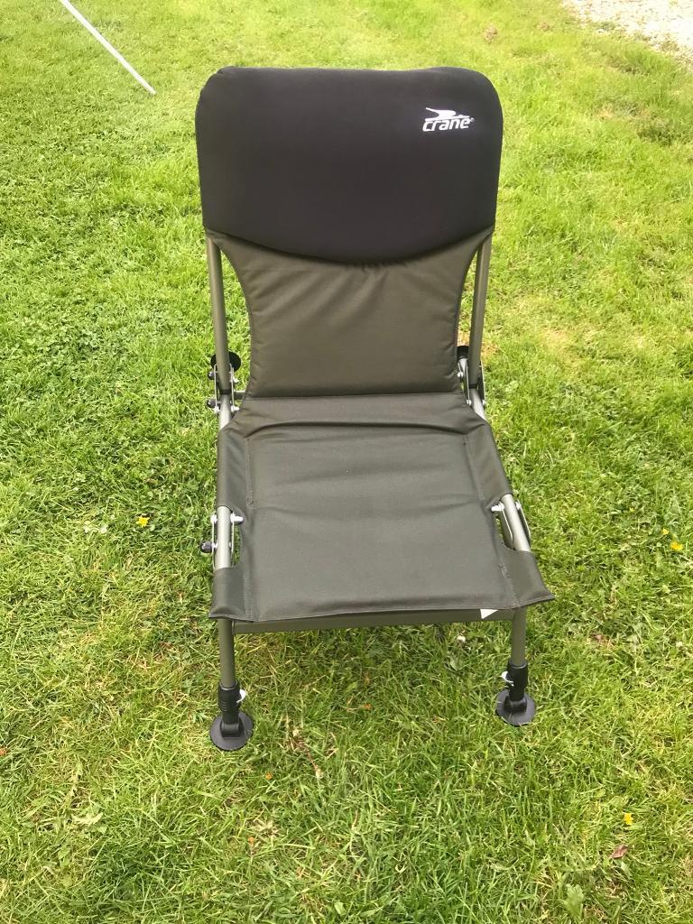fishing chair crane fluffy bean bag chairs in highwoods essex gumtree