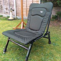 Fishing Chair Legs Acrylic Chairs With Cushions Fox Supa Folding Padded Seat Extendable Very Good Condition London Dd27