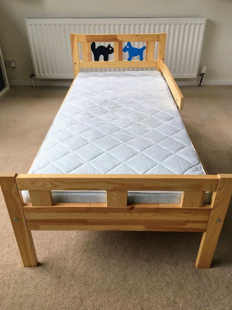 ikea childrens chair 2 patio cushions johannesburg kritter bed frame and vyssa vackert mattress   in nailsea, bristol gumtree