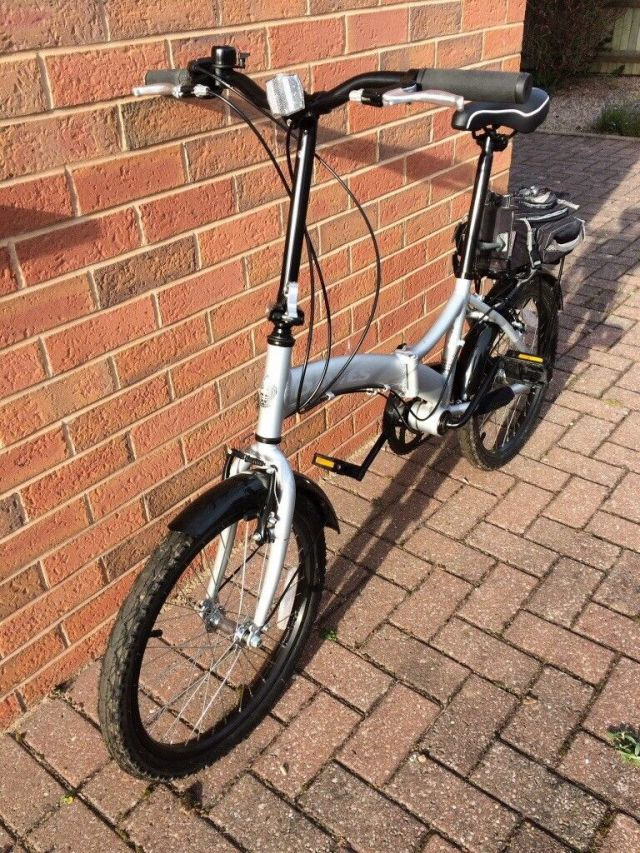 Dawes Diamond folding frame bike, hardly used. | in ...
