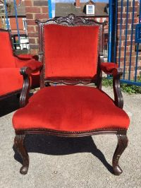 Large French / Ornate / Rococo Armchair - Vintage ...