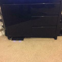Black High Gloss Living Room Furniture French Country Collection In Newport Gumtree