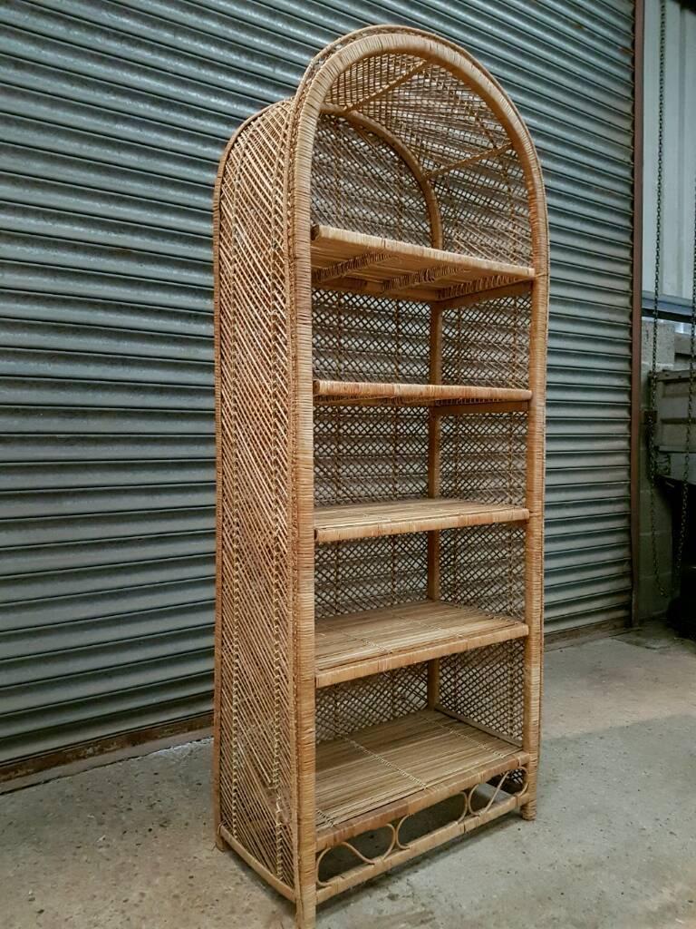 Wicker Bookcase  Display  Shelf unit  in Abingdon