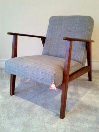 Ikea Ekenaset Retro Mid Century Chair - Grey - Brand New ...