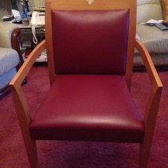 Red Chairs For Sale Office Chair Kneeling Super Solid Oak Frame X 4 In Colliers Wood