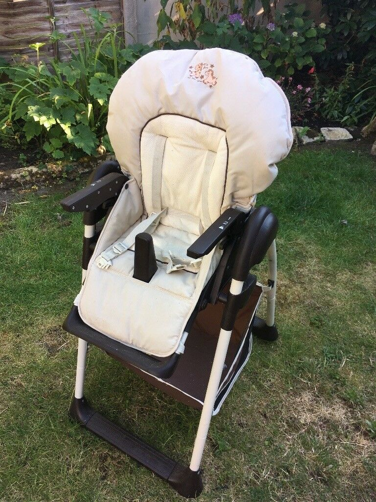 padded high chair bar chairs amazon adjustable in bournemouth dorset gumtree