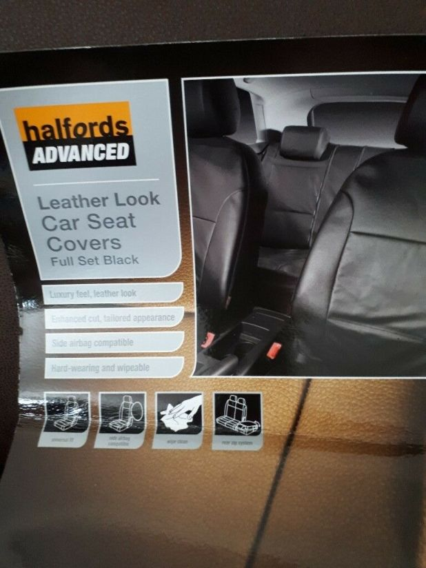 Halfords Full Set Car Seat Covers