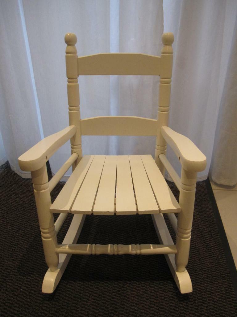 kids wood rocking chair threshold tufted dining wooden in highgate london gumtree