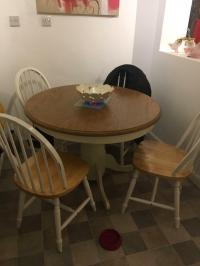 Kitchen, dining farmhouse table and 4 chairs | in Birtley ...