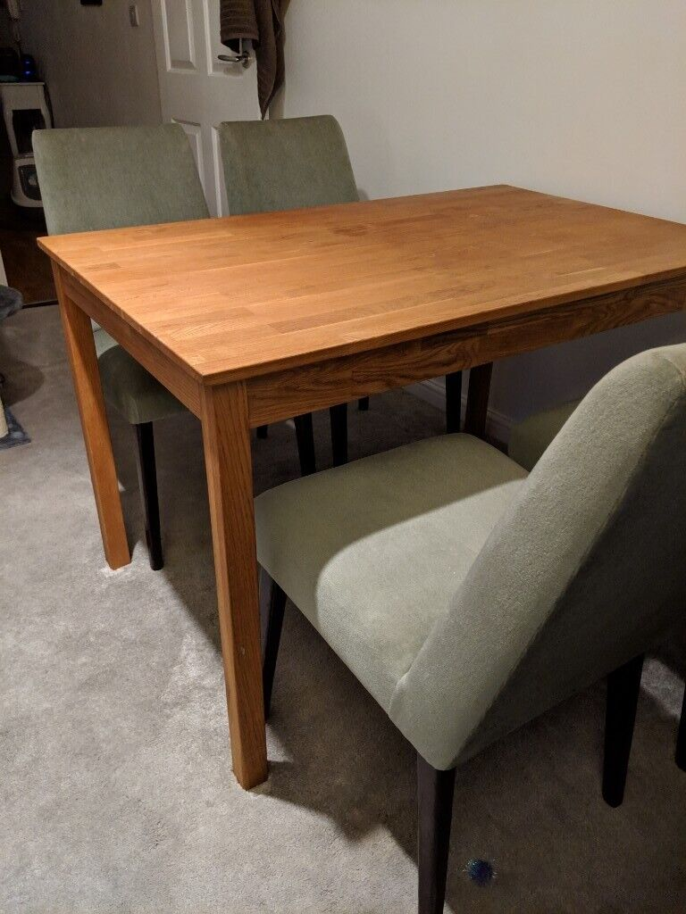 western kitchen table european gadgets wooden dining for sale 65 ovno in woolwich london gumtree