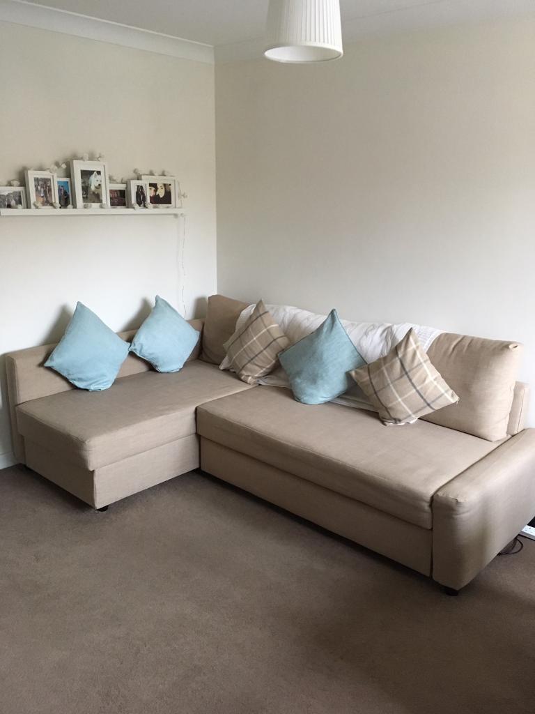 friheten corner sofa bed skiftebo beige rockers kruder dorfmeister s ikea as ...