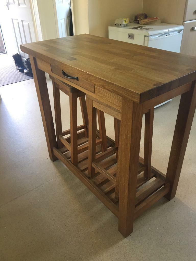 kitchen console table restoring cabinets laura ashley brompton with 3 chairs in