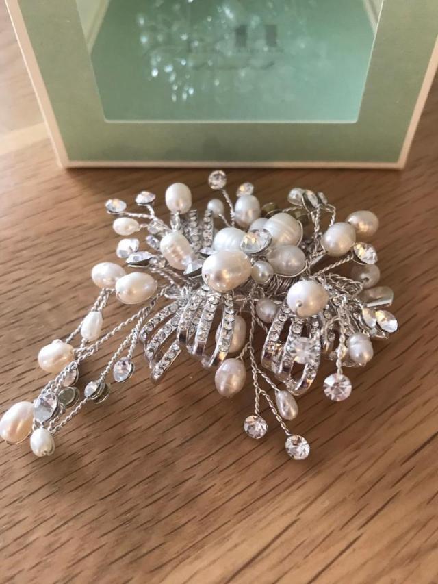 wedding/bridal hair clip | in colchester, essex | gumtree
