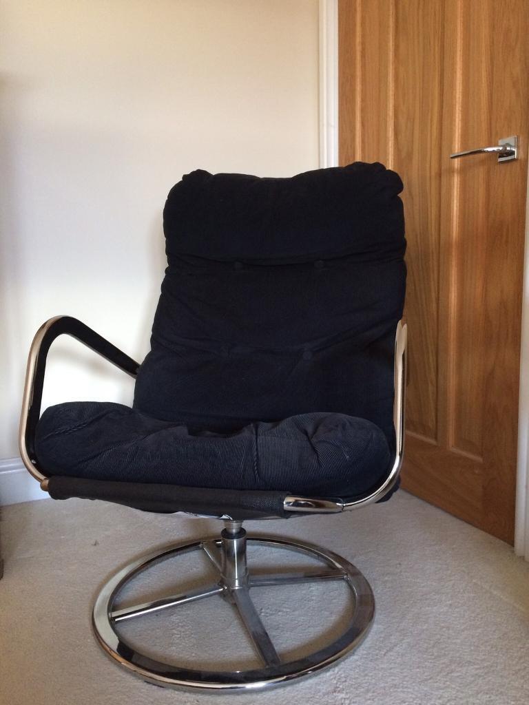 revolving chair gumtree adirondack accessories black ikea swivel in ludlow shropshire