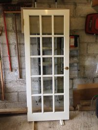 White glazed 15 panel door Buy, sale and trade ads