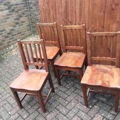 Oak Farmhouse Chairs Foam Cushions For Vintage In Yate Bristol Gumtree