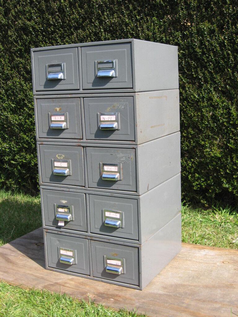 Vintage Kingsbury Digby Metal Filing Cabinet Industrial Tools Office Storage 10 Drawers In Southampton Hampshire Gumtree