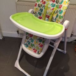 Elephant High Chair Modern White Office Chairs Mothercare Elephants Highchair In Sketty Swansea Gumtree