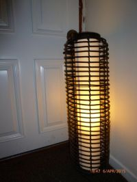 Stylish bamboo floor lamp | in Sandwell, West Midlands ...