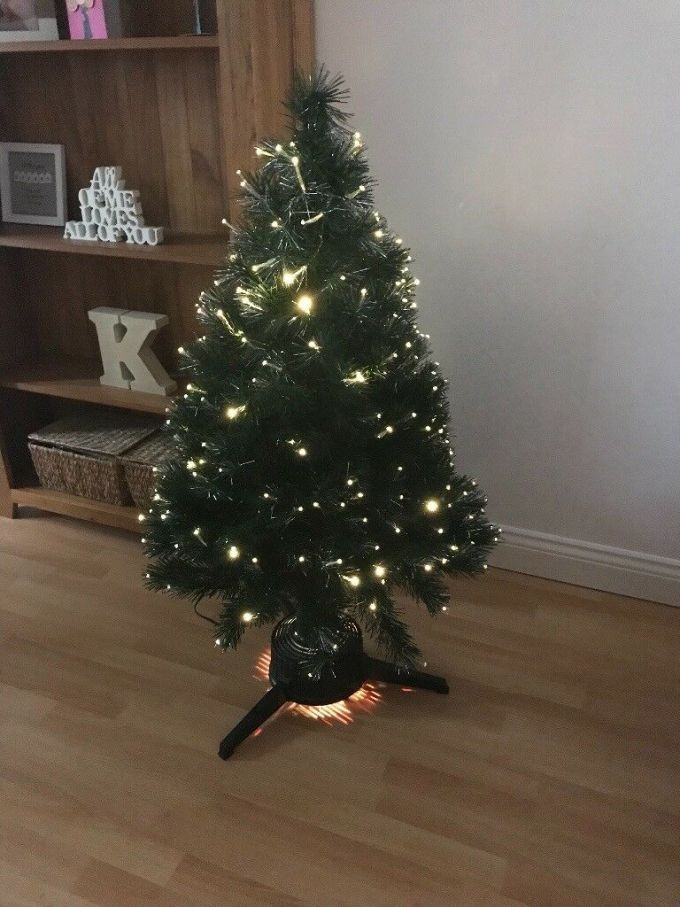b q 4ft fibre optic christmas tree in hartlepool county durham