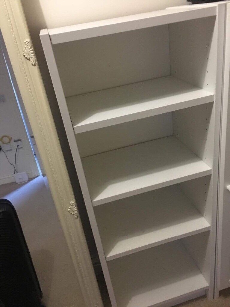 Billy Bookcase Or Shoe Cabinet White Ikea Malm 106x28x40 In London Gumtree