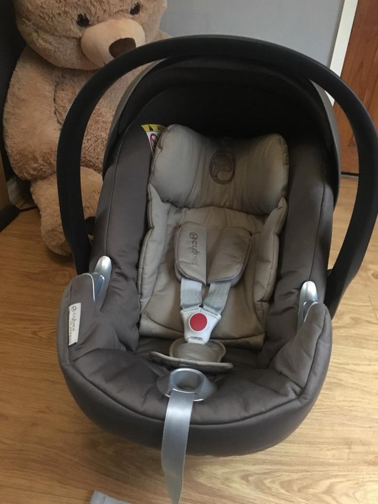 Cybex Aton Q Platinum Car Seat 2 Isofix Bases Plus Mamas