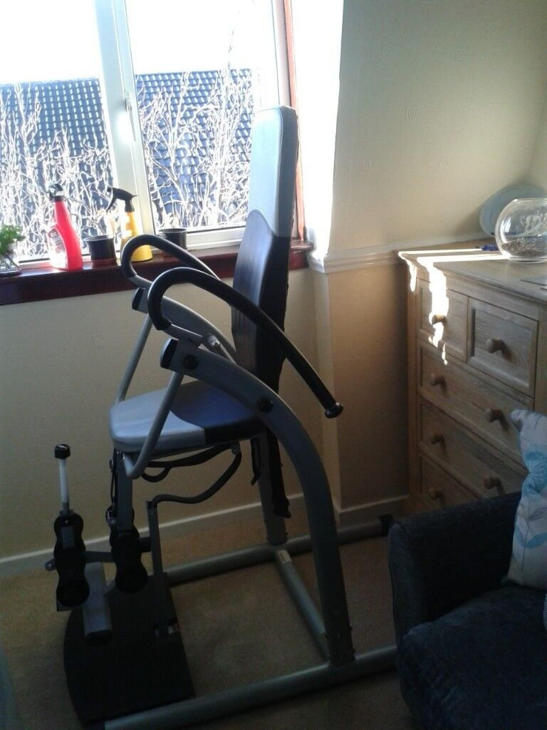 marcy inversion chair table lazy boy recliner chairs harvey norman ivt845 therapy workout in cumbernauld