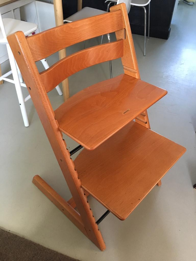 stokke high chair second hand bentwood thonet chairs for sale tripp trapp used very good condition in
