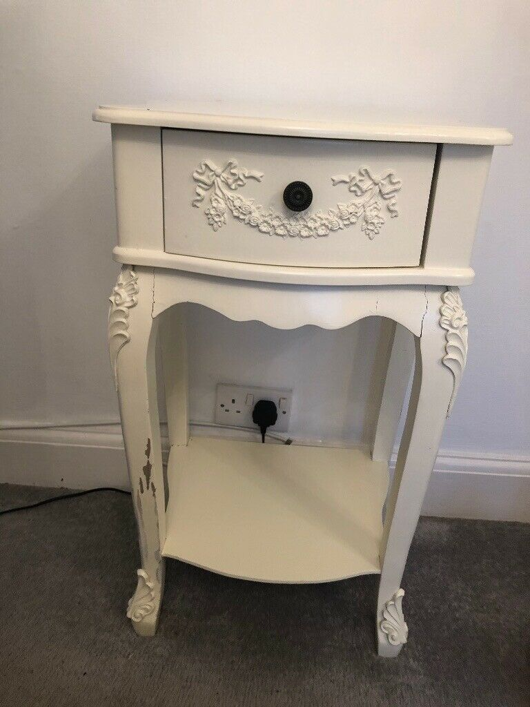 Shabby Chic Bedside Table In Melbourn Cambridgeshire Gumtree