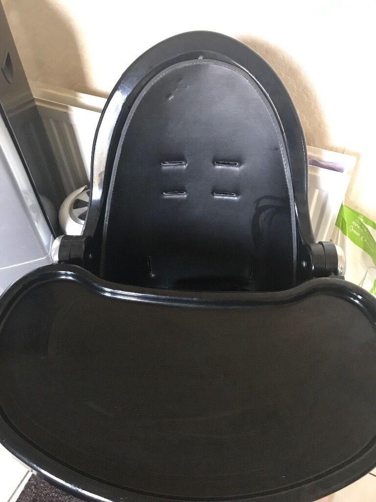 z shaped high chair desk wheel replacement john lewis black in nottingham nottinghamshire gumtree