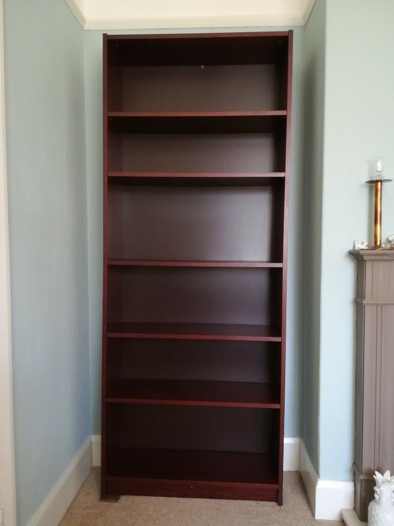 Mahogany Effect Ikea Billy Bookcase In York North Yorkshire Gumtree