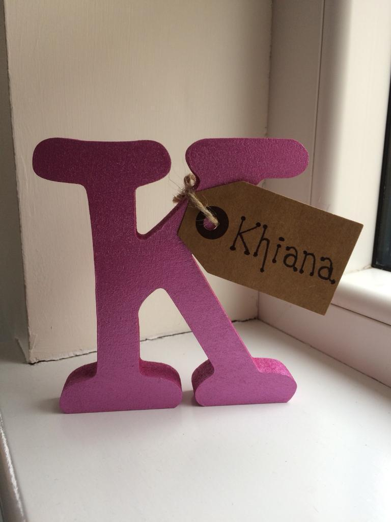 Personalised Gift Letters - Metallic :-)