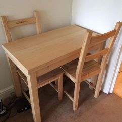 Ikea Folding Chair Baby Learn To Sit Bjursta Extendable Table   In Bromley, London Gumtree